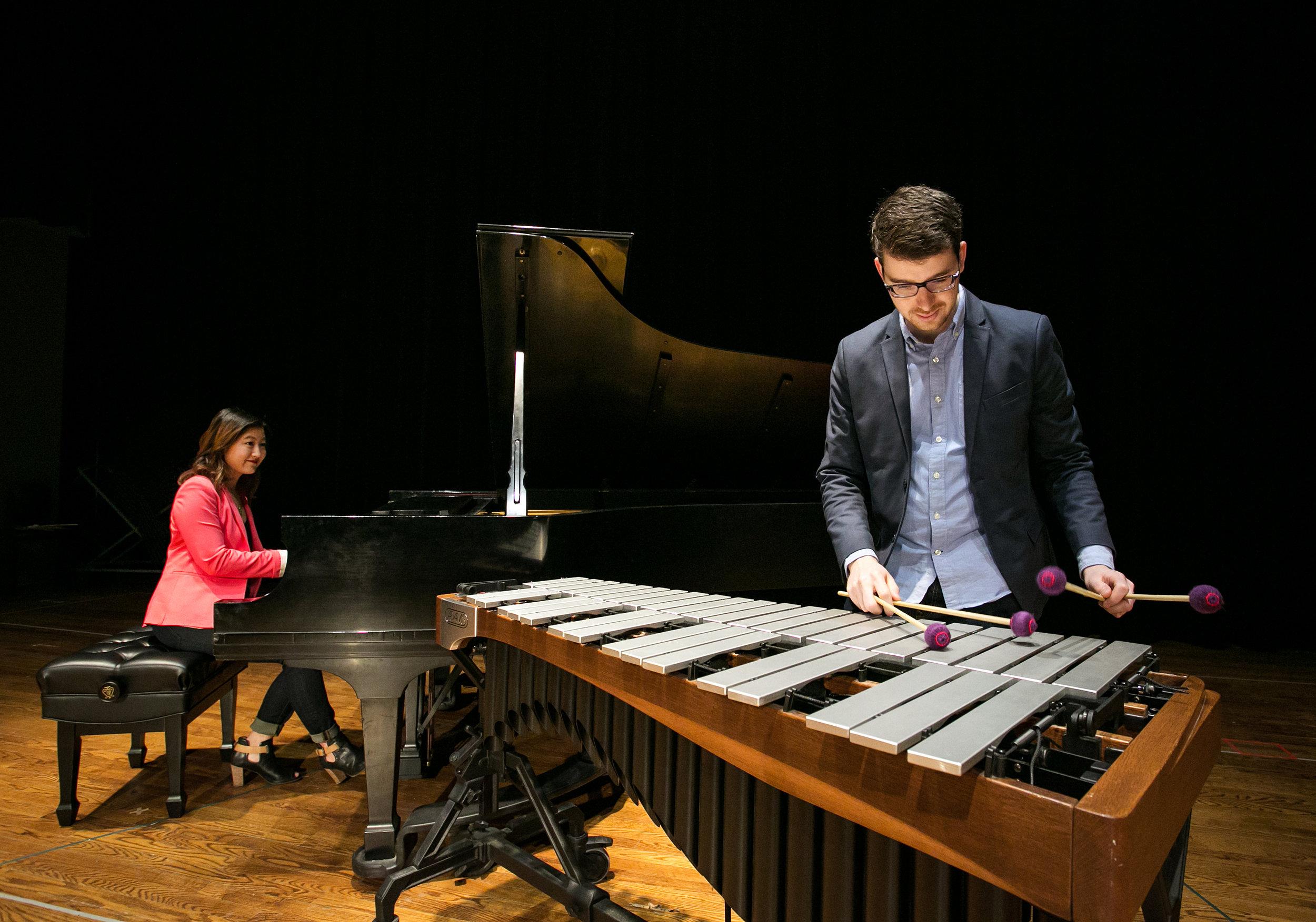 Empathy for vibraphone & piano duo