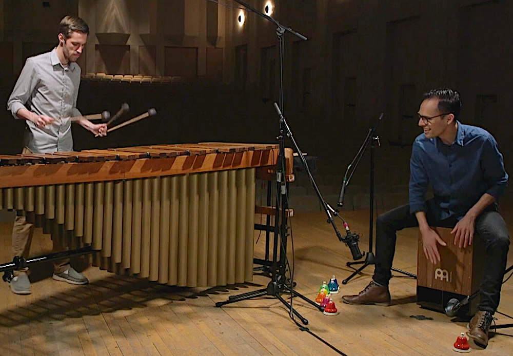 NEW RELEASE: Crossroads for marimba and cajon duo